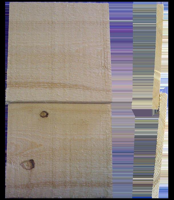 12.5mm Sawn Lap Cladding