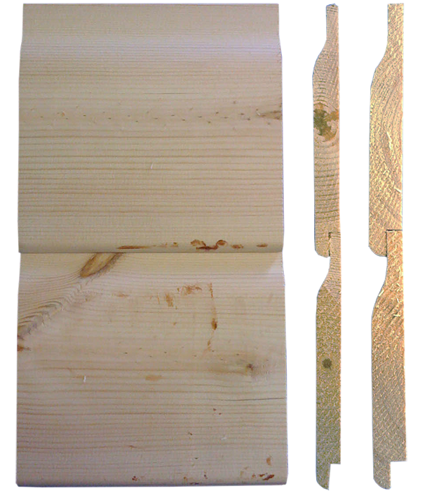 19mm and 25mm Ship Lap Cladding